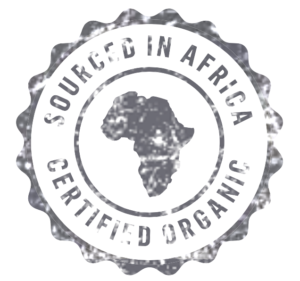 Organic and sourced in Africa products logo